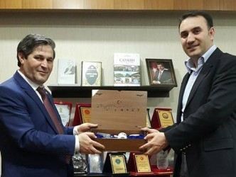 Şaban ÇAMCI'dan Şube Başkanımıza Ziyaret